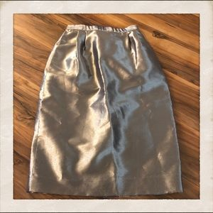 Vintage Lame Skirt! Small